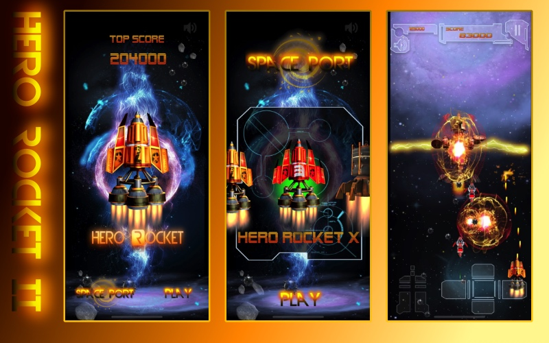 Hero Rocket II Space Shooter by Hero Rocket Games
